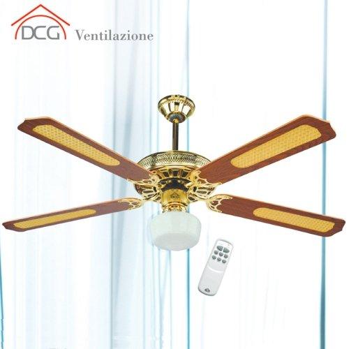 Schema Elettrico Per Ventilatore Da Soffitto : Ventilatore da soffitto pale con telecomando dcg