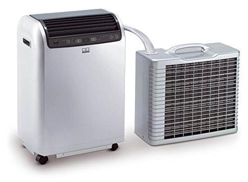 Remko Split Klimagerät RKL 491 DC, mobile und effiziente Klimaanlage, Einsatzbereich 120 qm, hohe Kühlleistung von 4.3 kW, geräuscharm, weiß, Art.-Nr. 1615490