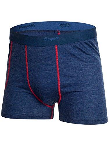 Bergans–Boxer da uomo Soleie Boxer navy melange/red