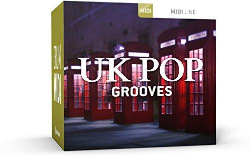 Preisvergleich Produktbild ToonTrack UK Pop Grooves MIDI-Pack (Download)
