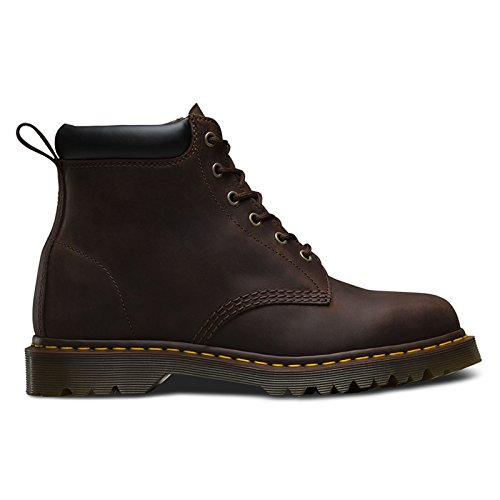 Dr Martens Core 939 Ben 6-Eye Padded Collar Boot Gaucho 8 (Padded Collar Eye)