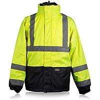 Softshelljacke grau Winter Wasserdicht Softshell Jacke Freizeitjacke Arbeitsjacke Outdoor Outdoorjacke Sicherheitsjacke Wanderjacke L