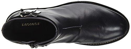 Neosens Hondarribi 913, Bottes Chukka Femme Noir (Ebony)