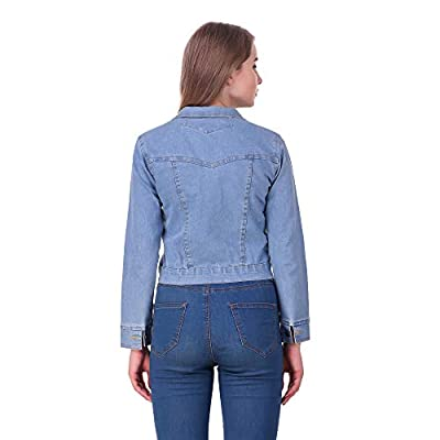 Clo Clu Women's Denim Jacket