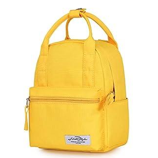 8811s Mochila Mini Tipo Bolso para Mujer, Amarillo