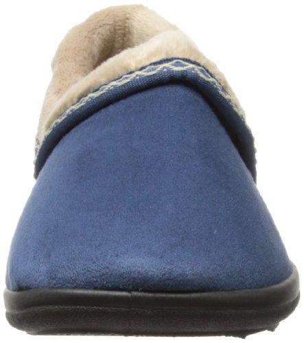 Padders Mellow Damen Hausschuhe Blau (Blue)