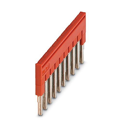 Preisvergleich Produktbild Phoenix Contact Steckbrücke FBS 10-5 (5,2mm), rot, 3030213