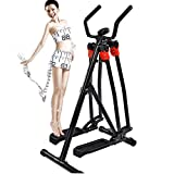 Air Walker Cross Trainer Glider Home Gym Fitness Exercise Machine With LCD