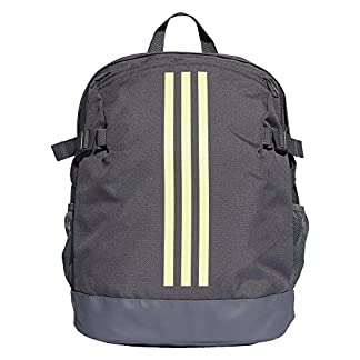 41aYaWq3TzL. SS324  - Adidas Training Mochila Tipo Casual 44 Centimeters 25 Gris (Grey/Hi-Res Yellow/Hi-Res Yellow)