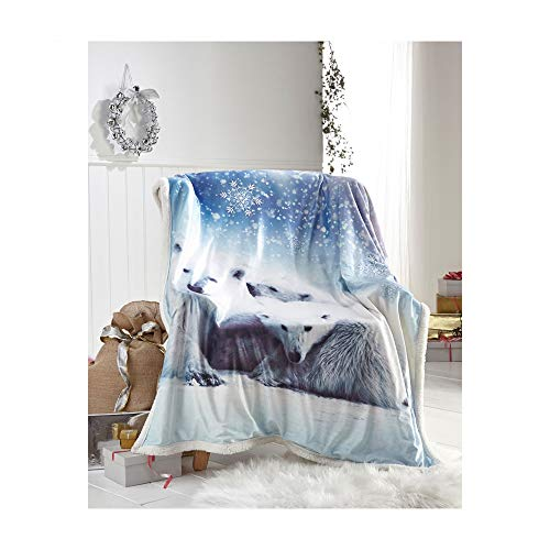 Baby Soft Faux Fur Throw Utmost In Convenience Home & Garden Self-Conscious Puppy Party Fleece Blanket