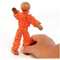 Anthara Yogi Super Flexi Wooden Human Art Toy Mannequin Manikins Figures Model Doll (13 cm)