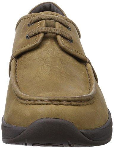 MBT Kheri 6s, Sneaker a Collo Basso Uomo Marrone (Dark Wood)