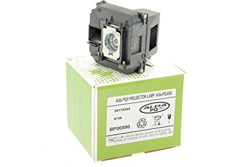 Alda PQ-Premium, Beamerlampe / Ersatzlampe für EPSON EH-TW5900, EH-TW5910, EH-TW6000, EH-TW6000W, EH-TW6100, EH-TW6100W, H421A, H450A, POWERLITE HC 3010 Projektoren, Lampe mit Gehäuse