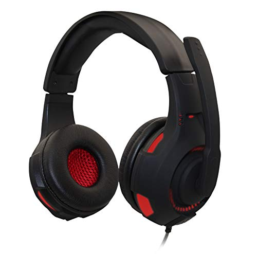 Auriculares Gaming 3.5mm+USB.