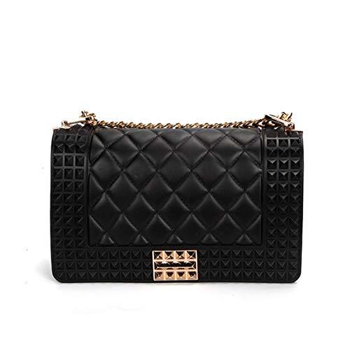 Umschlag Wristlet Womens Crossbody Handtasche mit Kette Armband-A 21x7x13cm(8x3x5inch) - Armband-handle-handtasche