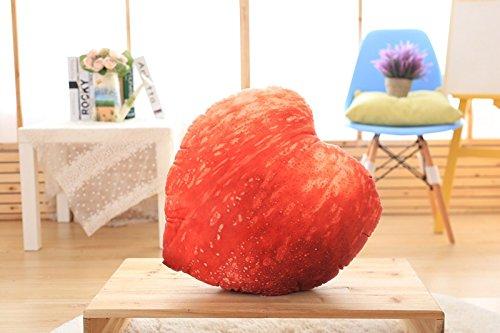 KLXEB Das Amt des 3D Liegen Kissen Kissen Kissen Für Siesta Kissen Student Office, Orange
