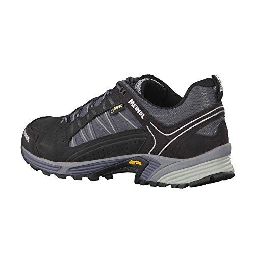Meindl Uomo Scarpe da passeggiata SX 1.1 GTX 3060 Black - silver / black