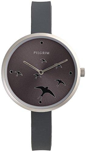Pilgrim DamenArmbanduhr Analog Quarz Silikon 701736100