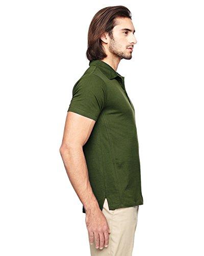 ... ec2505 econscious Herren 4.4 oz, 100% Bio-Baumwolle Jersey Kurzarm Polo  Loden
