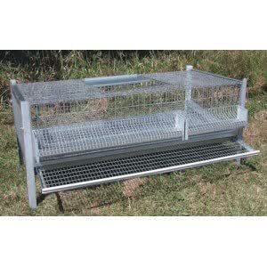 Matavipro - Cage 20/30 Cailles Pondeuses 99 X 62 X 50 Cm
