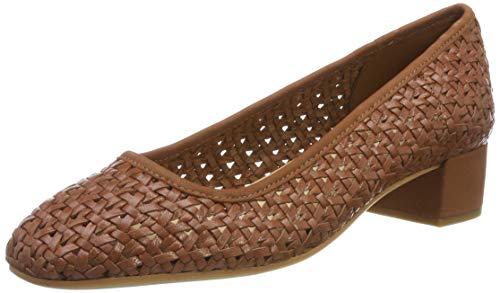 Clarks Orabella Alice, Botines para Mujer, Marrón Tan Weave Tan Weave, 39.5 EU