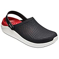Crocs LiteRide Clog, Black/White, 10 Men/ 12 Women M US,204592