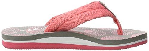 s.Oliver Unisex-Kinder 47101 Zehentrenner, Pink (Coral Comb 595), 33 EU -