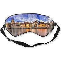 Schlafmaske Regensburg Deutschland Fluss Donau Maulbeerseide Schlafmaske Augenmaske zum Schlafen preisvergleich bei billige-tabletten.eu