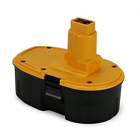 POWERAXIS 18V 3.0Ah Power Tools Replacement Ni-MH Battery for Dewalt DC9096 DE9095 DE9039 DE9096 DE9098 DE9503 DW9095 DW9096