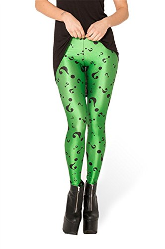 Zanuce Damen Leggings Bedruckt, sehr weich, Bedruckt, eng - - Einheitsgröße