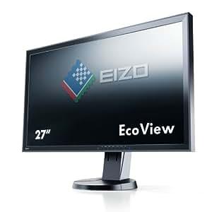 Eizo EV2736WFS-BK 68,6 cm (27 Zoll) Monitor (DVI, 6ms Reaktionszeit) schwarz
