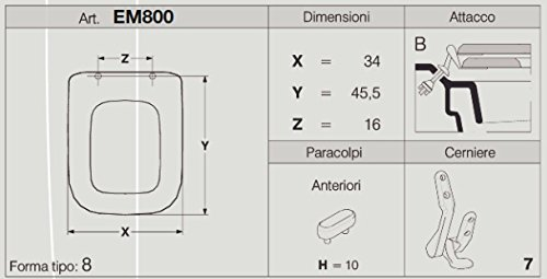 Zoom IMG-3 s ideal standard conca sedile