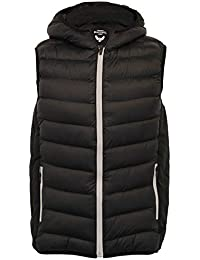 Mens Gilet Brave Soul Bodywarmer Camo Military Hooded Padded Quilted Winter  New e864d80ac