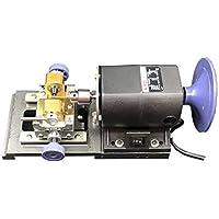 Baoshishan Perlenbohrmaschine, 240 W, bernsteinfarbenes Holding Machine Perlenpoliermaschine mit Schleifscheibe, volle Geschwindigkeit einstellbar (220 V)