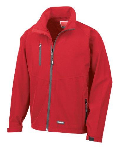 Base Layer Softshell-Jacke Red