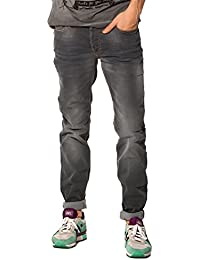 Japan Rags - Jeans JH611BAWSS90NB_0003-GREY - Homme