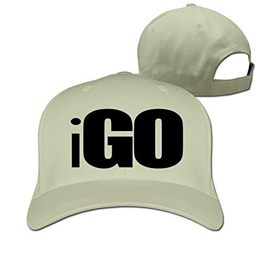THNA Go Logo Verstellbar Fashion Baseball Hat Gr. One size, natur