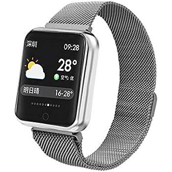 Smartwatch Reloj de Pulsera Resistente al Agua IP68 Pantalla táctil HD de 1.3