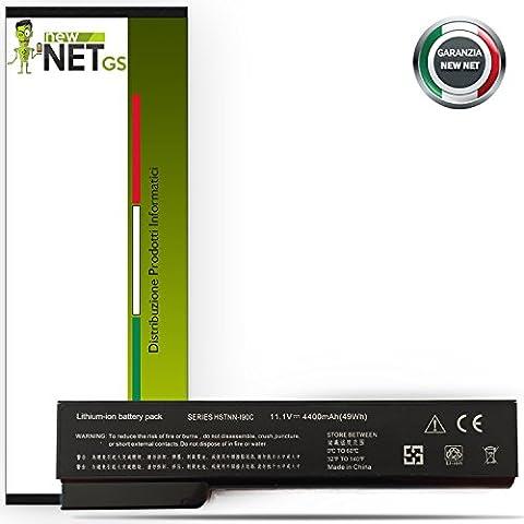 Newnet Batterie pour ordinateur HP 10.8–11,1V 5200mAh EliteBook 8470P EliteBook