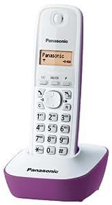 Panasonic Sans Fil Displ.Lcd Mem.50Num Blanc / Violet