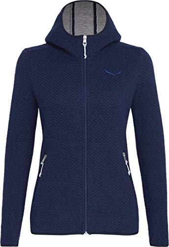 Salewa Damen Woolen 2L Hooded Jacke Strickjacke