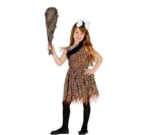 Imagen de disfraz de troglodita moteada para niña