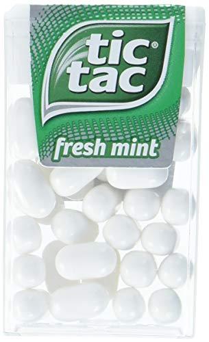 tic tac fresh mint Vorratspack, 36er Pack (36 x 18 g Packung) (Tic Tac Süßigkeiten)
