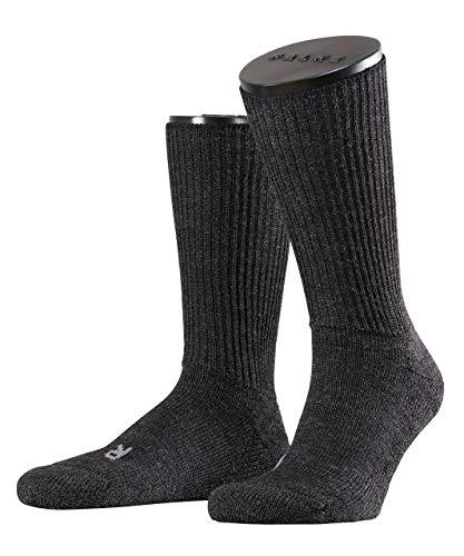 FALKE Unisex Socken Walkie Ergo - Merinowollmischung, 1 Paar, Grau (Anthracite Melange 3080), Größe: 44-45