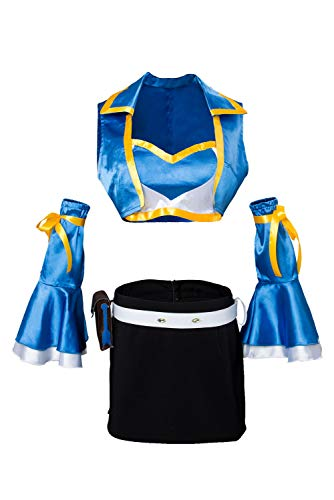 Manfu Fairy Tail Staffel 2 Lucy Heartfilia Cosplay Kostüm Damen XXXL