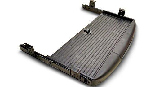 pull-out-scorrevole-sotto-scrivania-e-ripiano-per-tastiera-con-porta-penna-nero