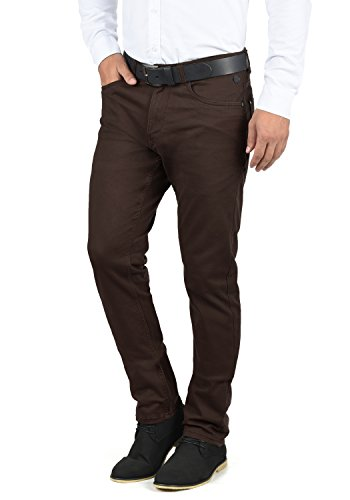 Blend Saturn Herren Chino Hose Stoffhose Aus Stretch-Material Regular Fit, Größe:W38/32, Farbe:Coffee Bean Brown (71507)