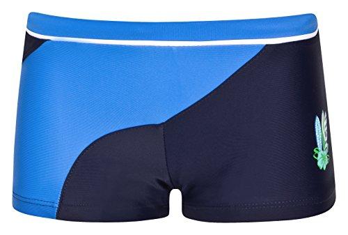 Olibia Mar: Jungen Retro Badehose/Badepants, blau/marine in Größe 98/104
