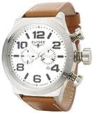 Elysée - 81005 - Competition Edition - Montre Homme - Quartz Analogique - Chronographe - Bracelet en Cuir