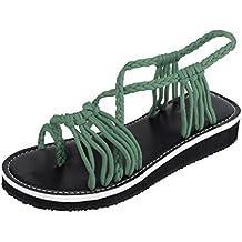 Zapatos de playa mujer, Covermason Ropa de playa SummerWoven Strap Fashion Beach